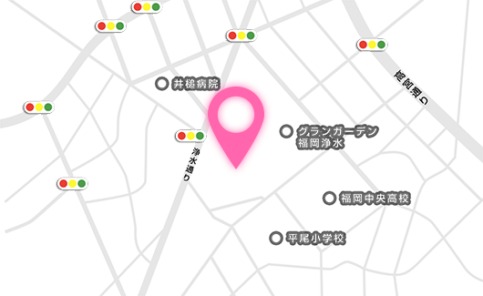 会場への地図