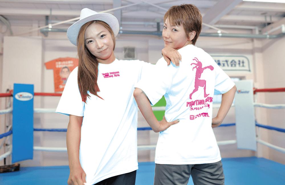 オフィシャルTシャツ(ホワイト)イメージ
